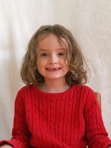 Hannah age 7 2012